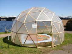 geo dome | Geodesic dome on AB dambis