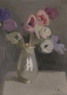 F I N S K A: Helene Schjerfbeck, tišina koja govori Helene Schjerfbeck, Helsinki, Still Life Flowers, Love Art, Art Photography, Illustration Art, Sculpture, Artwork, Painting
