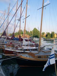 Uusikaupunki, Finland. Photo: Veera Silvendoin Sailing Ships, Finland, Boat, Spaces, Dinghy, Boats, Sailboat, Tall Ships, Ship