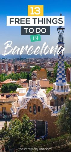 13 Free Things to do in Barcelona