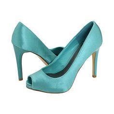Tiffany blue heels= Shaloea