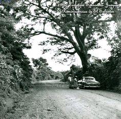 Decada de los 60s,  Carretera Sonsonate-Juayua El Salvador