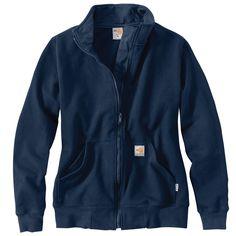 Women's Flame Resistant Klondike Sweatshirt - The Brown Duck
