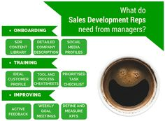 What do Sales Development reps require to do their job well?