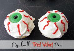 eyeball red velvet pie