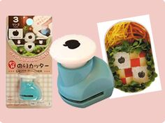 Seaweed cutters- heaps of fun shapes to create an awesome bento box