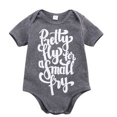 Pretty Fly For A Small Fry Baby Bodysuit