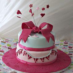 A cake just for Millie! Sweet 16 Birthday, Birthday Cake Girls, 30th Birthday, Birthday Cakes, Cath Kidston Cake, Childrens Cupcakes, Chocolate Cream Cheese, Cake Blog, Mini Pumpkins