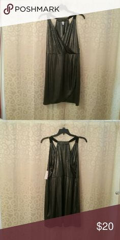 NWT Bongo Plus Women's 1X Black/Silver Dress This Dress is Black with Metallic Silver. Bongo Plus Dresses
