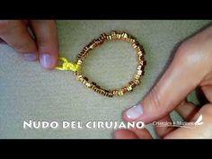 TIP 6 - NUDO DEL CIRUJANO EN BISUTERIA - YouTube