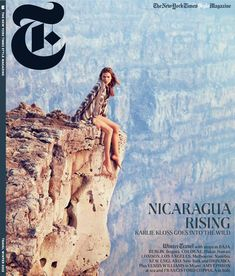 Karlie Kloss Takes to Nicaragua for T Magazines Winter 2012 Cover Shoot by Ryan McGinley #saramoonves