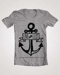 Buy a t-shirt. Help provide clean drinking water and change a life forever.  Thanks @Courtney Laib