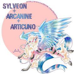 Sylveon + Arcanine + Articuno