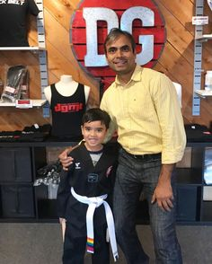 The family that trains together stays together!! Vidant is one of our Basic Skillz students and his dad Sushil is one of our students. We love these two! #dgninjas #ninjanation #dragongymfamily #martialarts #taekwondo #thefamilythattrainstogether #exton #exronpa #westchesterpa #downingtown #chesco #chestercounty