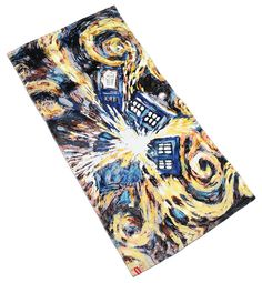 Doctor Who Exploding TARDIS Towel - #DoctorWho - Geek Decor