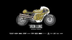 The utterly badass 'Iron Lung' Harley Sportster from @Icon Motosports. Love it.