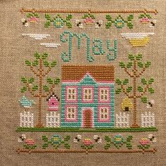 Finish #14 for 2015 May Cottage by Country Cottage Needleworks