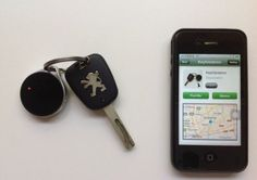 Anti-lost Locator Key Finder Bluetooth Device for Apple iPhone 4s/iPad/iPhone 5/iPod Touch 5-Black:Amazon:Cell Phones & Accessories