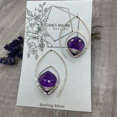 Fine, handcrafted jewelry inspired by the natural world. Cristy's Jewelry Design has a selection of various gemstones and metal finishes. Opal, Amethyst, Handcrafted Jewelry, Handmade, Metal Finishes, Jewelry Companies, Malachite, Natural Gemstones, Gemstone Rings