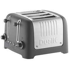 Buy Dualit 46292 4 Slot Lite Toaster - Granite today at IWOOT. Red 4 Slice Toaster, Dualit Toaster, Kitchen Dinning, Red Kitchen, Dining, Red Appliances, Commercial Catering Equipment, Kitchen Equipment, Kitchens