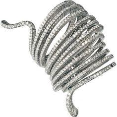 bracciale con 900 diamanti Damiani