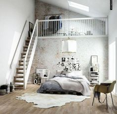 Maybe I can do a small loft in my front room.
