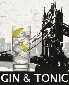 gin and tonic cocktail gin and tonic cocktail classic with a twist gin ...