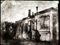"""William Henry Fox Talbot """"Lacock Abbey"""" (1839) photogenic drawing. I made the pilgrimage to this little village in England. Nice place to spend an afternoon."""