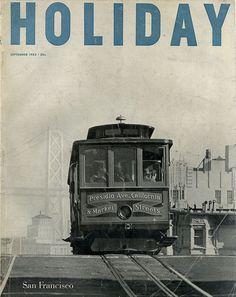 HOLIDAY Magazine September 1953 / San Francisco
