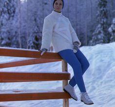 In pics: Fashionable Finns of the and Ski Fashion, Fashion Design, Ski Wear, Vintage Ski, Marimekko, Fashion Forward, Skiing, 1960s, Turtle Neck