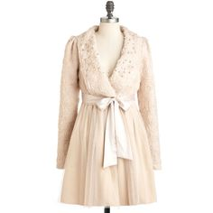 Ryu Meet in the Mezzanine Coat ($131) ❤ liked on Polyvore featuring outerwear, coats, jackets, modcloth, casacos, pink coat, ryu coat, fur-lined coats, ryu and sash belt
