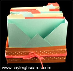 How-to cardbox with video