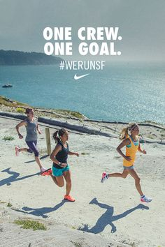 One crew. One goal. Train strong, together. Grab friends or your local run club and get ready to run San Fran. #werunsf