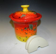 Made to order 2 QT fermenting crock by MarkCampbellCeramics on Etsy https://www.etsy.com/listing/178453727/made-to-order-2-qt-fermenting-crock