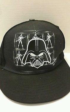 Star-Wars-Darth-Vader-Snapback-Hat-Lucasfilm-Ltd-Black-Vader-Patch-NWOT