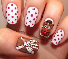 Muppets 'Fozzie Bear' Nails
