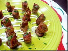 Bacon Guacamole Appetizer Bites