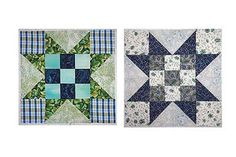 An Evening Star Quilt Block Pattern for Beginning and Expert Quilters: How to Make Evening Star Quilt Blocks