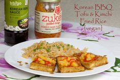 ... Vegan Korean Dishes on Pinterest | Kimchi Fried Rice, Korean Bbq and