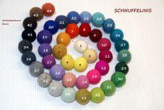 Wool Dryer Balls 6pcs. EXTRA Large Premium by Schnuffelinis
