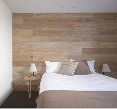Bett Kopfteil aus Holz