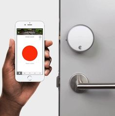 Lock and unlock your door from anywhere with your phone. Tell Alexa, Siri or the Google Assistant to control this Wi-Fi connected August Smart Lock.