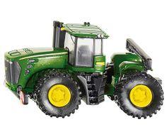 Miniatura tractor JOHN DEERE 9630 #momamini #juguetes #miniaturas #coleccionista #tractor #johndeere