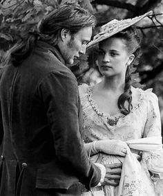 Mads Mikkelsen & Alicia Vikander (in A Royal Affair)