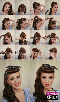 ¿Quieres probar algo divertido con tu cabello? ¡Prueba este estilo rockabilly! #HairTrends