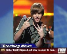 funny pictures of justin birber | Funny Justin Bieber Bashing Pictures 12 | Bacon Wrapped Media