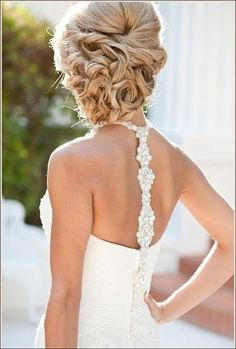hmmm something a bit different....50 Elegant Wedding Updos For Long Hair and Short Hair @stephaniehillin