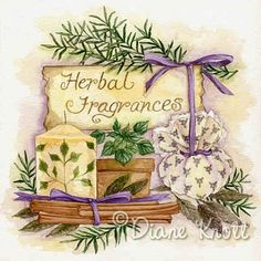 """©Diane Knott  """"Herbal Fragrances"""""""