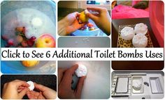 Maria Sself Chekmarev: Six Additional Uses of Toilet Bombs - WHO Knew? Homemade Cleaning Products, Household Cleaning Tips, Natural Cleaning Products, Cleaning Hacks, Cleaning Items, Toilet Cleaning, Cleaning Recipes, Bath Products, Cleaners Homemade