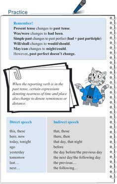 Grade 5 Grammar Lesson 14 Speech direct and indirect English Grammar Rules, English Writing Skills, Grammar Lessons, English Language Learning, English Lessons, Teaching English, Teaching Letters, Teaching Aids, Fluent English